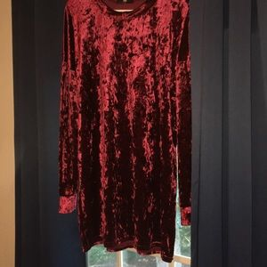 Really soft long sleeve dress